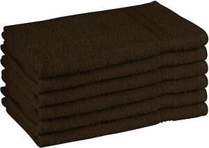 Beauty Threadz - Pack of 6 Hand Towels 100% Premium Cotton 16x28 inch, 400 GSM