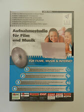 4 PC CD-ROM Für Filme Musik Internet Aufnahmestudio Neu originalverpackt