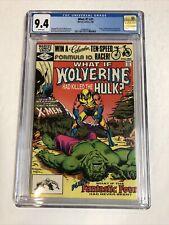 What If? (1982) # 31 (CGC 9.4 WP) Hulk 181 Wolverine