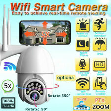 1080P WIFI Wireless IP Camera IN/Outdoor CCTV HD PTZ Smart Home Security IR Cam