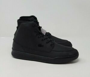 Lacoste Explorateur Classic Mid Leather Sneaker Men's Boots US 9 NEW