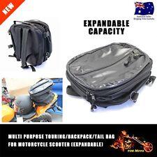 Universal Motorcycle Luggage Tail Bag Helmet Saddle Tail Seat Bag XMAS Bags TDR