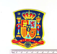 kiTki Spain RFCF soccer football iron-on embroidered patch emblem applique