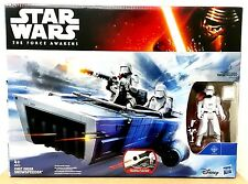 "HASBRO STAR WARS FIRST ORDER SNOWSPEEDER w/ 3.75"" SNOWTROOPER VEHICLE"