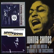 Johnny Shines - With Big Walter Horton / Standing at the Crossroad [New CD] UK -