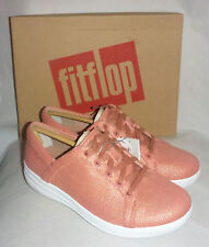 FitFlop F-sporty II Mirage Canvas Sneaker Apple Blossom Ladies Trainers Size 4