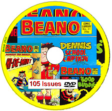 Beano Comic Library 105 Comics 1982-1987 on DVD                               B3