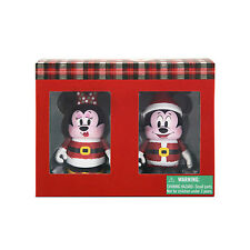 Disney Parks Vinylmation Set 2015 Christmas Mickey And Minnie Mouse Holiday NIB