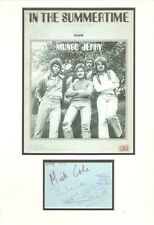 MUNGO JERRY (IN THE SUMMERTIME) SIGNED AUTOGRAPHS