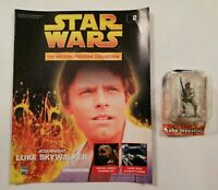 STAR WARS FIGURINE COLLECTION ISSUE 2 LUKE SKYWALKER DEAGOSTINI METAL FIGURE