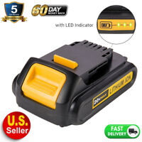 DCB201 For DEWALT DCB207 20V Max XR Lithium 2.0Ah Battery DCB203 DCB201 Compact