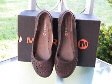 Merrell Mimix Joy Leather Cut-out Ballerina Flats Comfort Shoes Womens Size 7