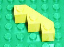 LEGO yellow brick facet ref 2462 / set 6277 1822 6276 ...