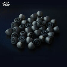 30Pcs Small Black Replacement Silicone Ear Bud Tip for KZ ED12 ZS2 ATE ZS3