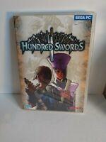 HUNDRED SWORDS PC CD-ROM STRATEGY GAME brand new & sealed UK SEGA ORIGINAL