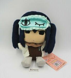"K-On! B2603 Azusa Nakano Lawson 6"" Plush Stuffed TAG Toy Doll Japan"