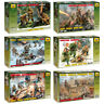 "ZVEZDA Model Kits ""Soviet Soldiers of Land Army, 1941-1945 year, WWII"""
