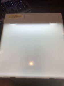 Original Artograph LightTracer Light Box Back Lit Slides Tracing