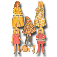 "24"" Charmin Chatty Cathy Doll Clothes Vintage Pattern~ Dress, Nightgown, Robe"