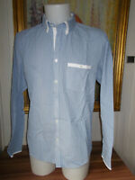 Chemise coton épais blanc rayé  manches longues JACK & JONES PREMIUM XL 44