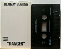 """""""Danger"""" - [Single] by Blahzay Blahzay (Cassette, 1995, Fader Records) HipHop"""