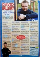 *DAVID HALLYDAY => COUPURE DE PRESSE 1 page 2002 / FRENCH CLIPPING