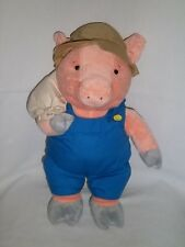 "1998 CVS Stuffins 15"" Plush THIS LITTLE PIGGY Went To The Market Lg Stuffed Pig"