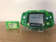 Nintendo gameboy game boy advance Bundle GBA * NOUVEAU Shell Pokemon Leaf Green jeu *