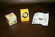 """Simpsons Collectible Homer Simpson """"Mmm Burger"""" Talking Wrist Watch in Orig. Box"""