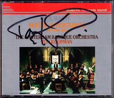 TON Koopman firmato Bach Orchestral Suite (Overtures) No. 1 2 3 4 ga DHM 2cd