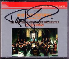 Ton KOOPMAN Signiert BACH Orchestral Suites (Overtures) No.1 2 3 4 GA DHM 2CD