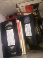 65+ Used Recorded VHS Tapes Lot MOVIES SHOWS PROGRAMS - Sold As Blanks