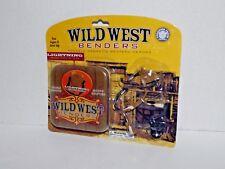 1 Pack Wild West Benders Lightning Posable Magnetic Western Heros New (j)