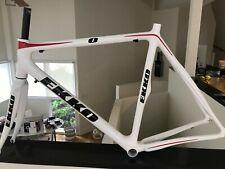 Todo carbono carretera Marco de bicicleta y tenedor 1417g 59cm peso total ver listado