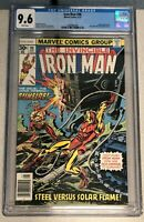 Iron Man #98 CGC 9.6 WHITE PAGES