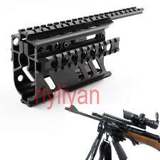 "Alum 4 Quad 20mm Picatinny Rail 8.27"" handguard for Rifle scope Sight Torch Hunt"