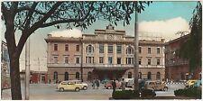 CAGLIARI - STAZIONE FF.SS. 1964 MINI CARTOLINA BABY CARD