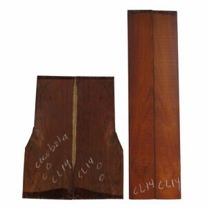 Cocobolo Rosewood Classical Guitar Back & Side Set#14 Luthier Tonewood Free Ship