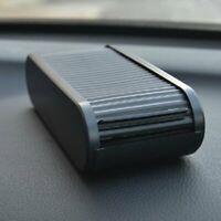 Plastic Auto Car Coin Holder Organizer Money Loose Change Debris Storage Box CA