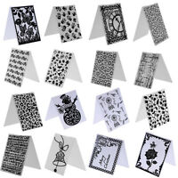 Kunststoff Mold Stencil Embossing Folder Template DIY Karte Scrapbooking Dekor