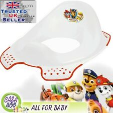 DISNEY Baby Toilet Seat Child Toddler Trainer Training Paw Patrol NEW