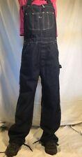 VINTAGE Denim Bib Overalls Jeans Jumper Sz 36x32 Sears