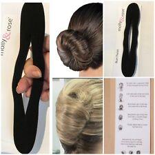 Flut Stil Schaum Schwamm Magic Bun Hair Styling Maker Werkzeug Clip Twist—QY