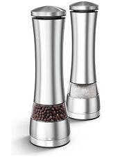 Morphy Richards Stainless Steel Salt & Pepper