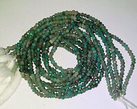 Gorgeous Shaded Amazonite Faceted Round/Rondell Gemstone Beads 2.50-3mm 13 Inch.