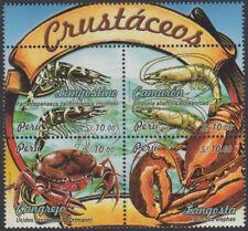Peru 1810/13 2009 Tierwelt Krebstiere MNH