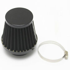Motorcycle Black 39mm Air Filter Cleaner Cruiser Chopper Cafe Racer Touring ATV