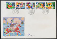 Great Britain 1247a on Fleetwood FDC - Special Occasions, Flowers, Cupid, Fruit