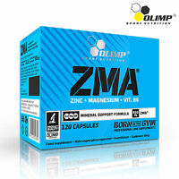 ZMA 15-240 Caps Testosterone Booster Hormone Support Sleep Aid Recovery Mineral