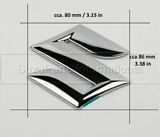 Suzuki Swift Splash SX4 S-Cross rear back tail badge emblem chrome sticker